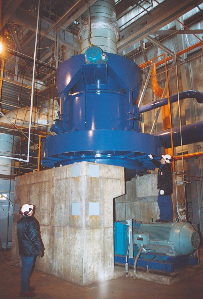 DF 90 500 HP Roller Mill - Williams Patent Crusher