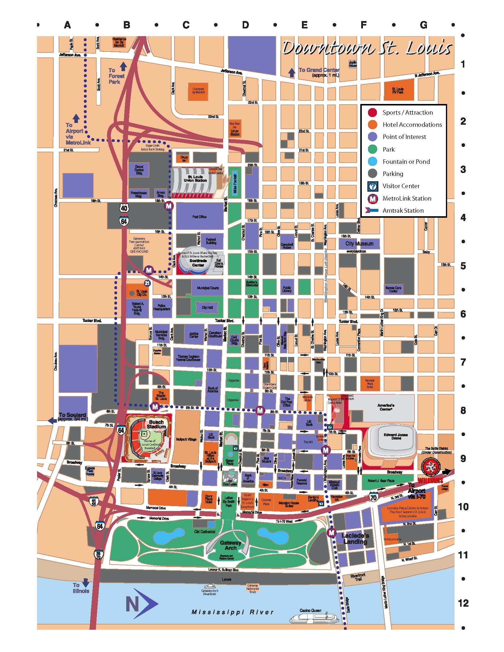 Map to Headquarters   Williams Crusher