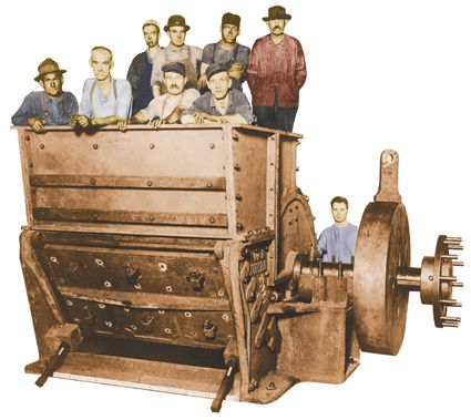 Williams Patent Crusher Company History