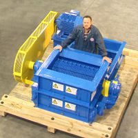 Heavy Duty Single and Double Roller Crushers - Williams Patent Crusher