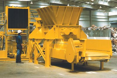 Hydraulic Ripshear Shredder