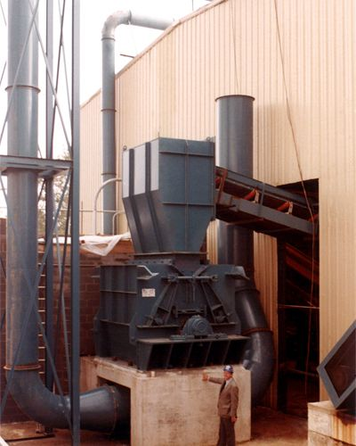 Reversible Secondary Shredder - Williams Patent Crusher