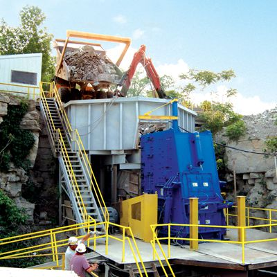 Willpactor Impact Cement Crusher
